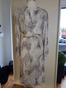 Marc Aurel Snake Print Shirt Dress
