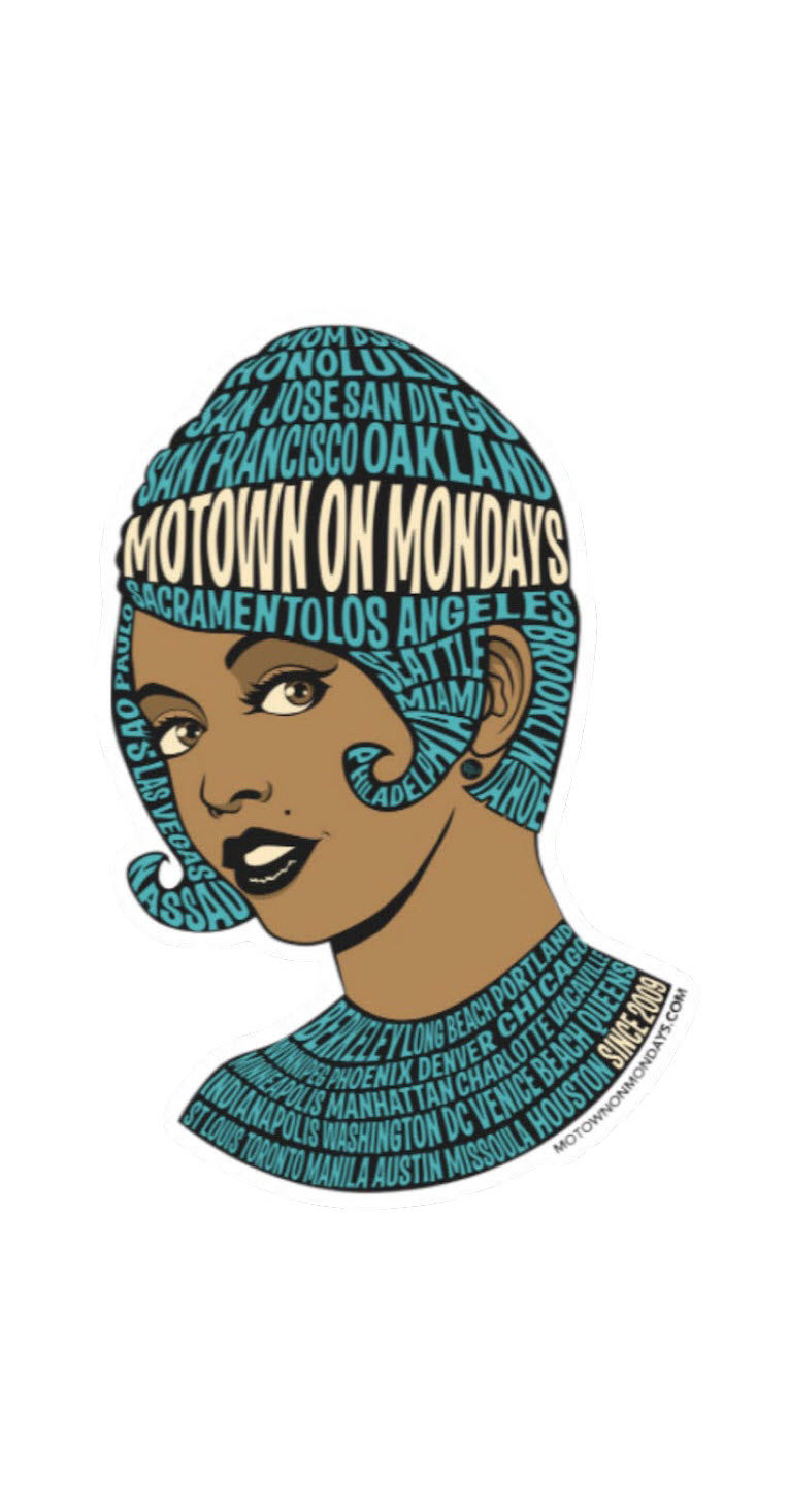 Motown On Monday Sticker