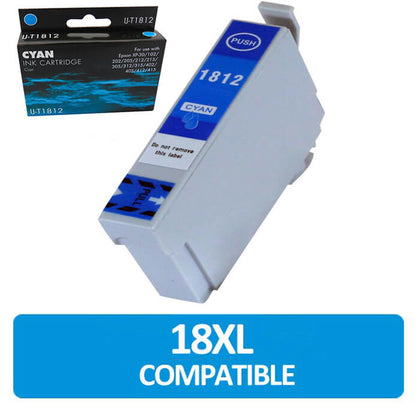 IJ T1812 Compatible Epson Ink Cartridge (IJ-T1812) - Click 4 Ink