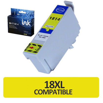 Blue Box T1814 Compatible Epson Ink Cartridge (BB-T1814) - Click 4 Ink
