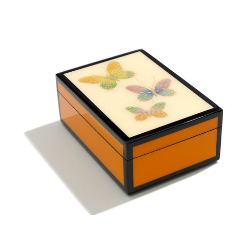 Butterfly Hand-painted Box