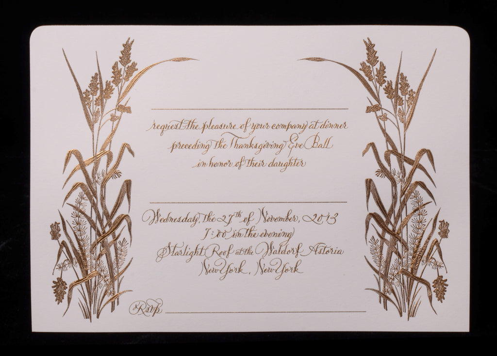 Custom Retail; title: Adair Invite Fill In