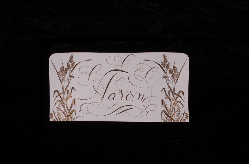 Envelopes & Placecards; title: Adair Place Card