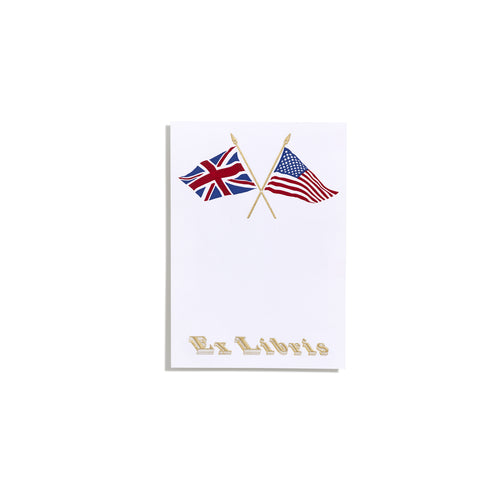 Flag Bookplate