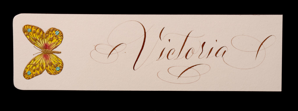 Custom Retail; title: Butterfly Bookmark Victoria