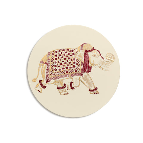 Elephant Coasters  |  Set of 8