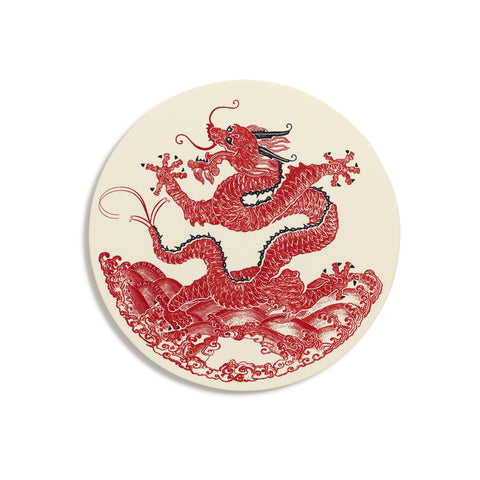 Dragon Coasters  |  Set of 8 - ONLY ONE SET LEFT!