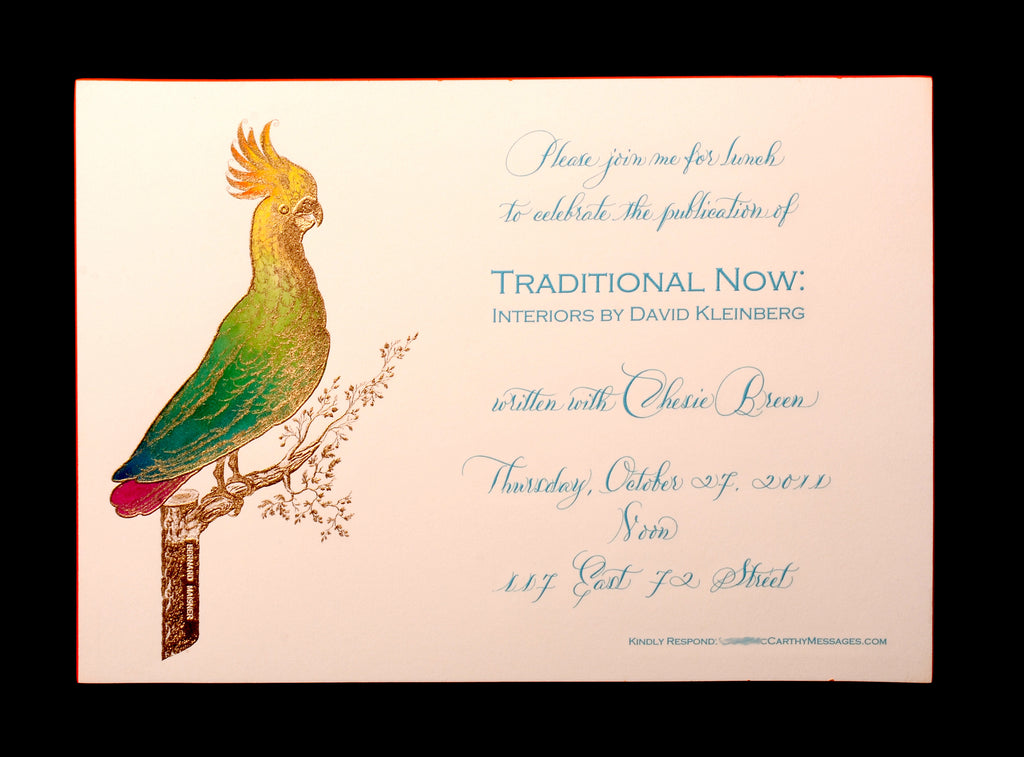 Custom Retail; title: Cockatoo Grand David