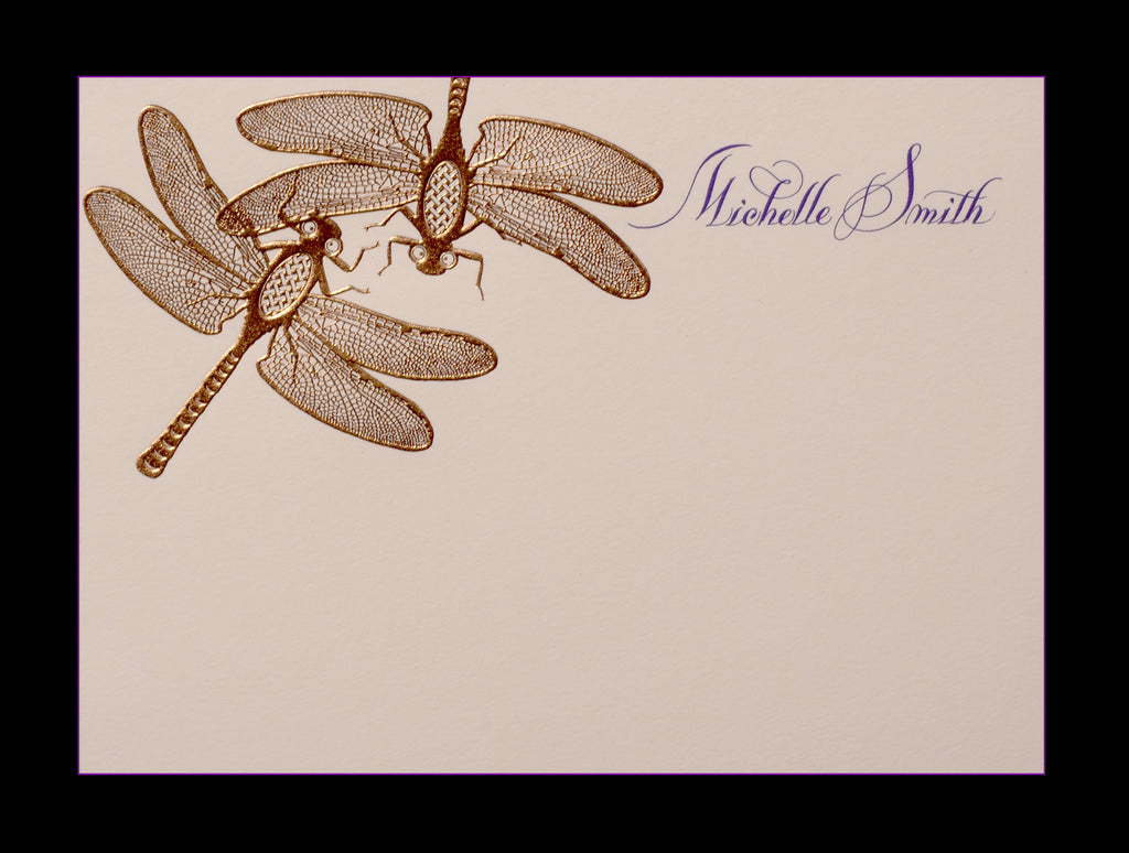 Custom Retail; title: Double Dragonfly Michelle