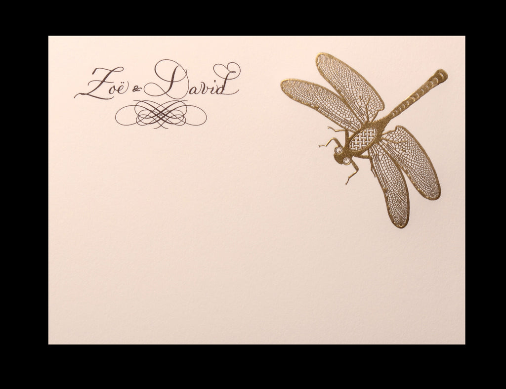 Custom Retail; title: Dragonfly Zoe & David