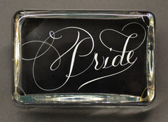 Pride Paperweight, Large Rectangle