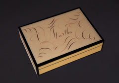Names Custom Written Lacquer Box