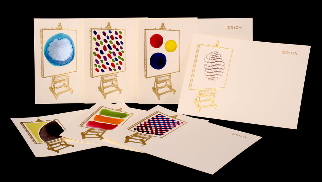 Custom Retail; title: Easel & Canvas Erica