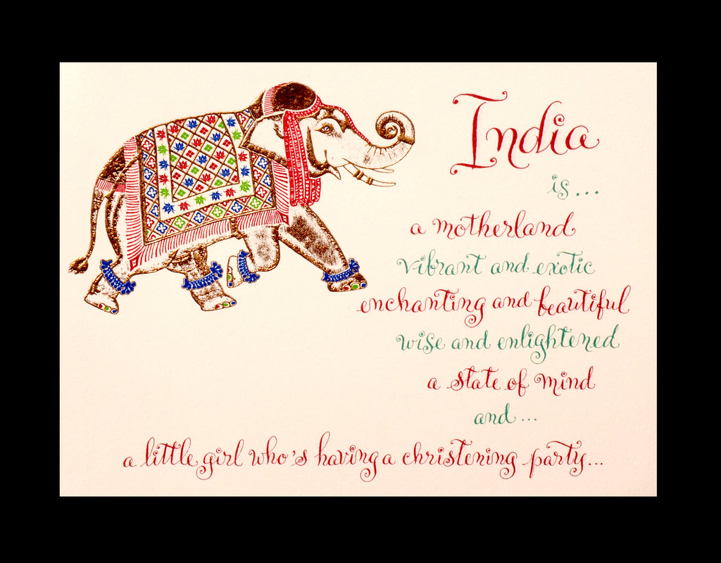 Custom Retail; title: Elephant India
