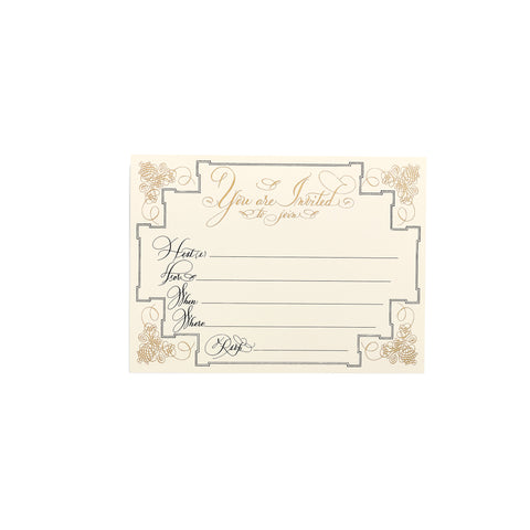 Elegant Invitations  |  Set of 10