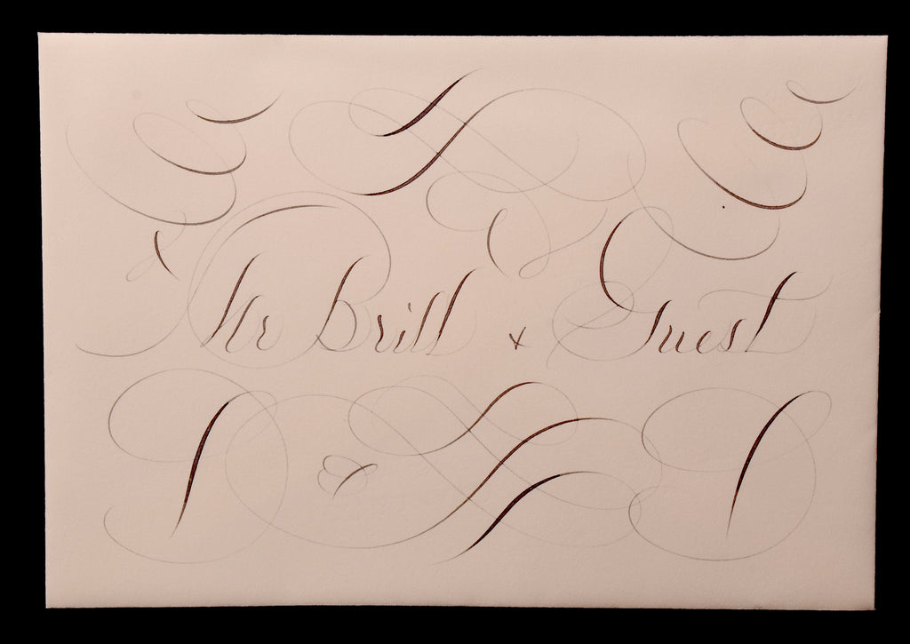 Envelopes & Placecards; title: Full Page Style Inner Envelope
