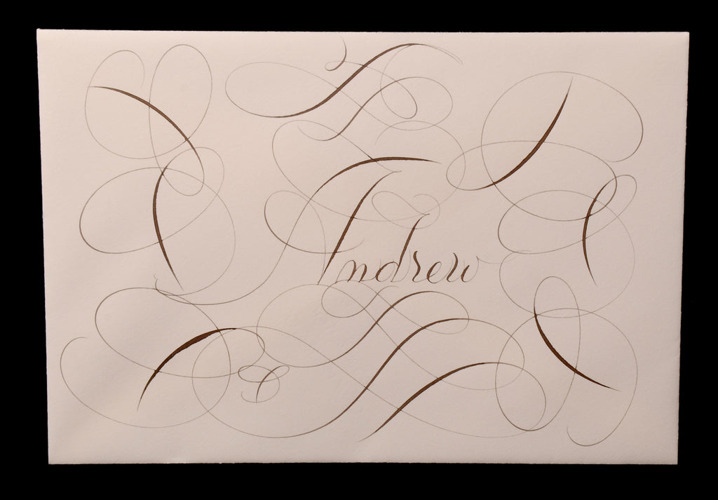 Envelopes & Placecards; title: Full Page Style Inner Envelope 2