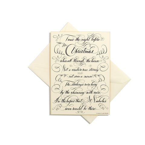 T'was The Night Grand Statement Card