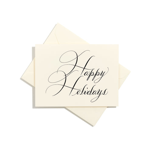 Holiday Folder Card | Set of 8
