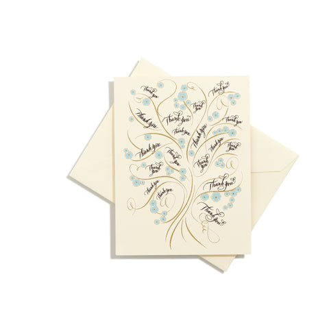 Tree of Life Thank You Folder Card