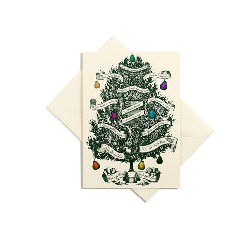 Partridge in a Pear Tree Grand Statement Card
