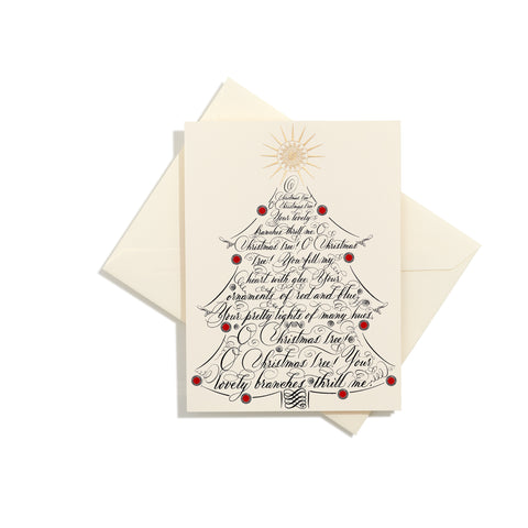 O Christmas Tree Folder Card | Set of 8