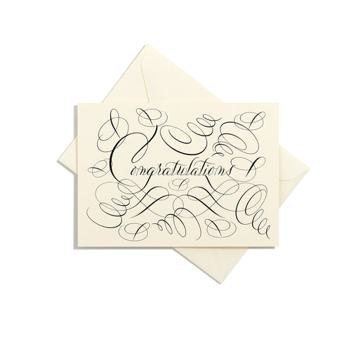 Congratulations Grand Statement Card