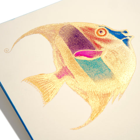 Fish Hand-painted Grand Statement Card