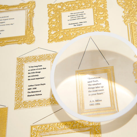 Magnifying Glass Grand Statement Card