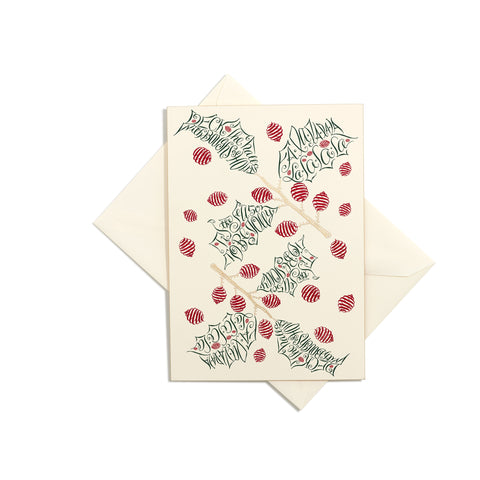 Deck the Halls Grand Statement Card