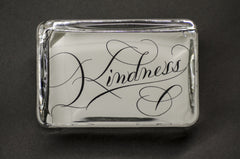 Kindness Paperweight, Large Rectangle