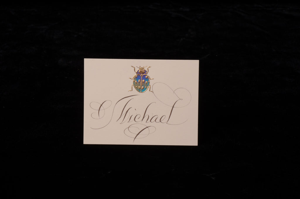 Envelopes & Placecards; title: Ladybug Place Card