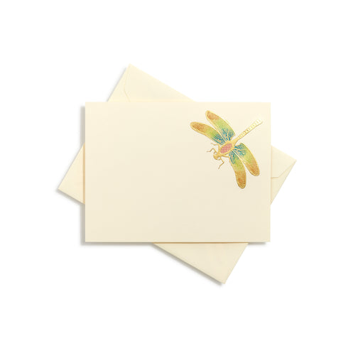 Dragonfly Hand-painted Notecards | Set of 8