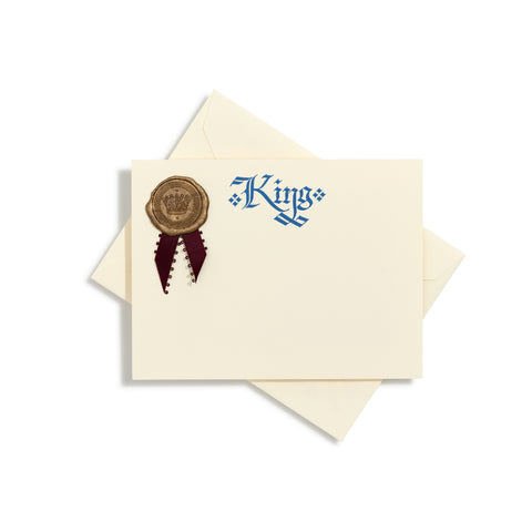 Royalty Kings Notecards | Set of 10