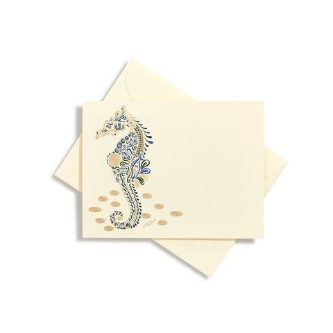 Seahorse Notecards | Set of 8