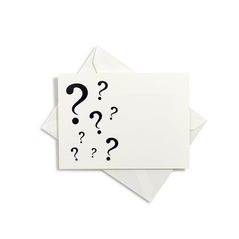 Question Mark Notecards | Set of 8