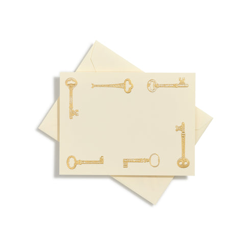 Keys Notecards | Set of 10