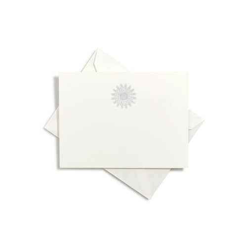 Snowflake Notecards | Set of 8