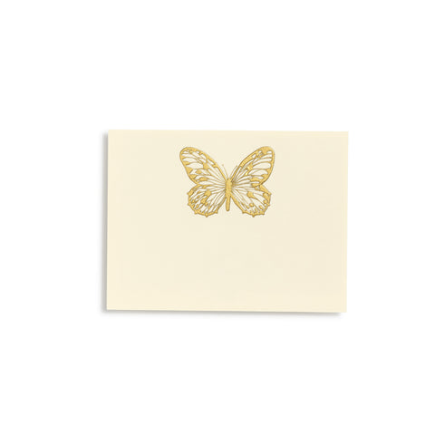 Butterfly Gold Place Cards  |  Set of 10
