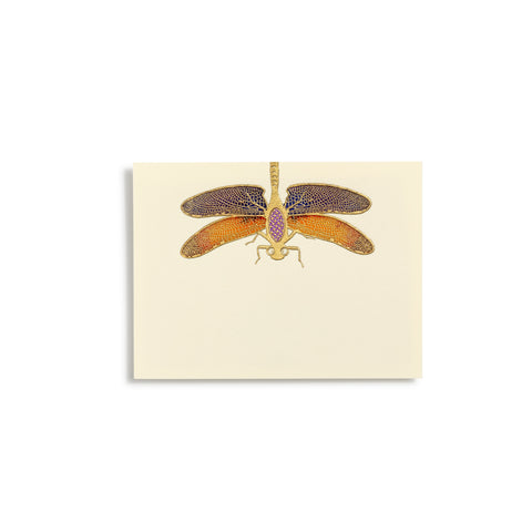 Dragonfly Hand-painted Place Cards  |  Set of 8