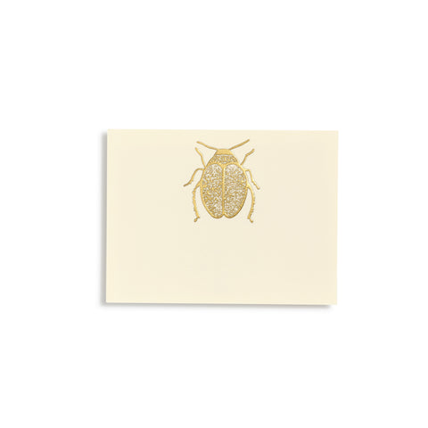Scarab Gold Place Cards  |  Set of 10