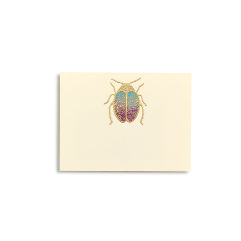 Scarab Hand-painted Place Cards  |  Set of 8