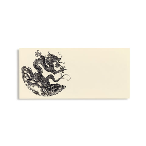 Dragon Black Dragon Place Cards  |  Set of 10