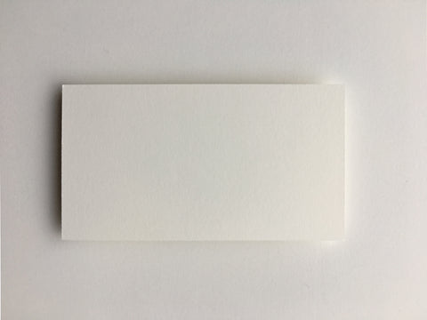 Simple White Place Cards  |  Set of 10