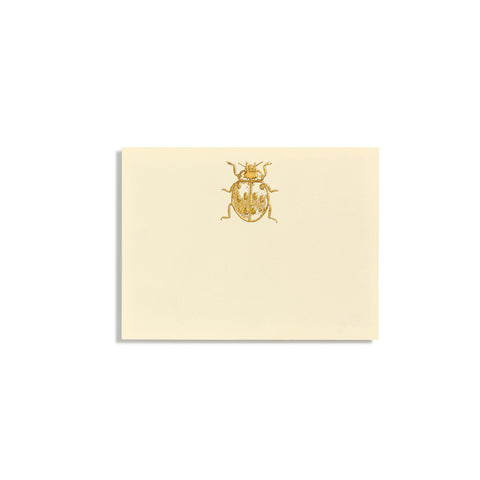 Ladybug Gold Place Cards  |  Set of 10