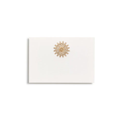 Snowflake Place Cards  |  Set of 10
