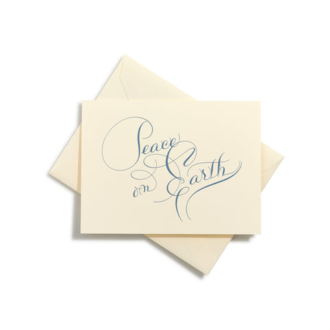 Peace on Earth Folder Card  |  Set of 8