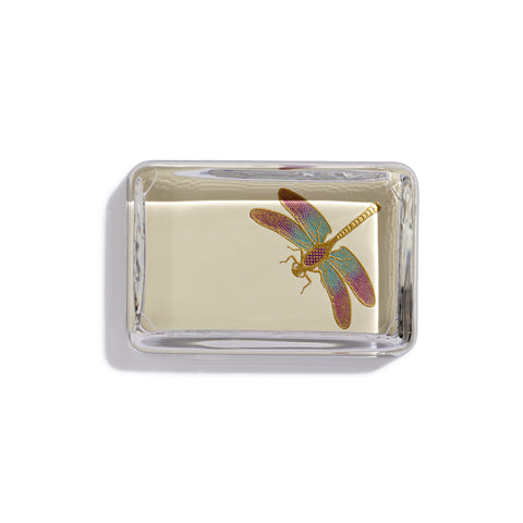 Dragonfly Rectangular Paperweight
