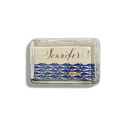 School of Fish Customized Paperweight