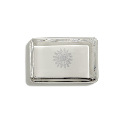 Snowflake Rectangular Paperweight